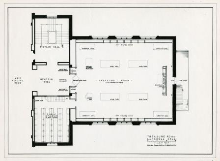 Plans of the Treasure Room, HLSL 1948