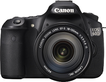 Canon EOS 60D front view