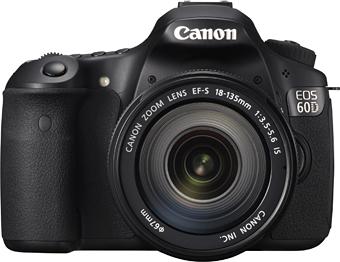 Canon EOS 60D front view