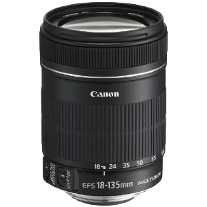 Canon EF-S 18-135mm Lens