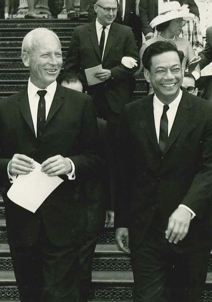 Gov. Burns and Wm. Richardson