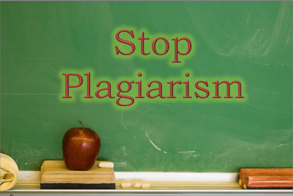 Stop Plagiarism Image