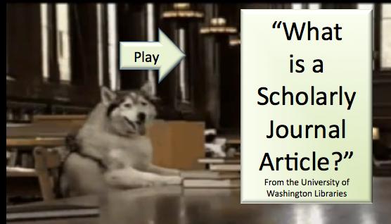 Scholalry Versus Popular Articles