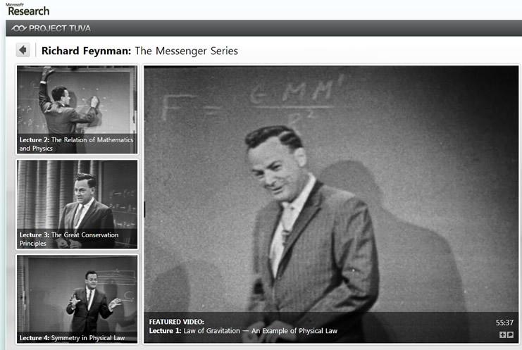Feynman Messenger Lectures