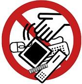 """no e-waste"" icon"