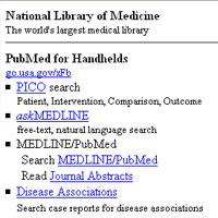PubMed Handhelds
