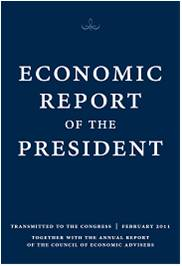 Economic Report of the President by Council of Economic Advisers: Download Cover