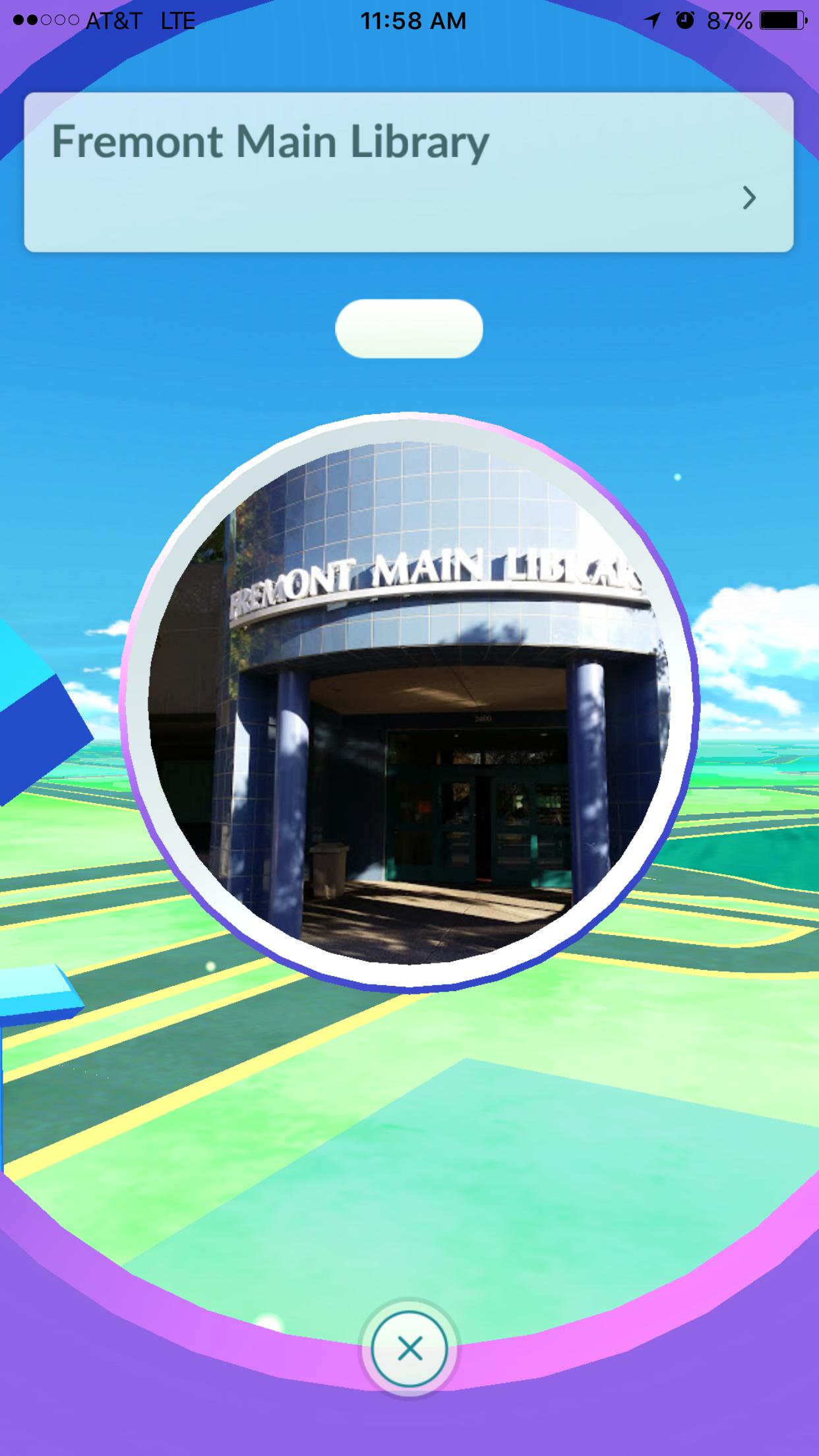 Fremont Library Pokemon Go