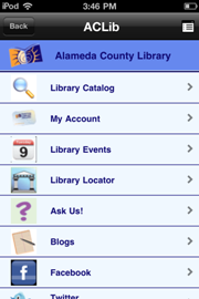 AC Library mobile app