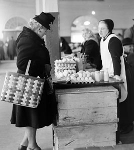 Kitchener Farmer's Market, 1948