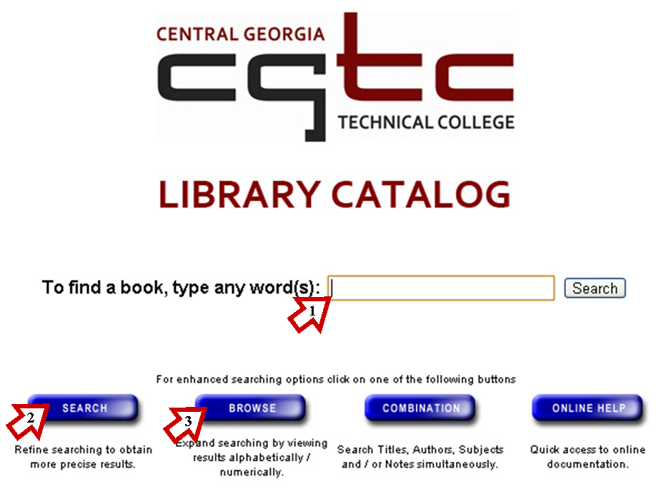 CGTC Library Main Page