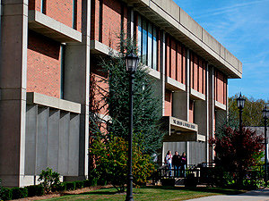 Image of exterior of Maxwell Library