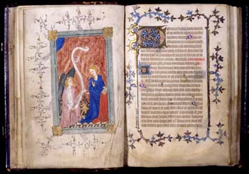 Book of Hours, Use of Sarum.