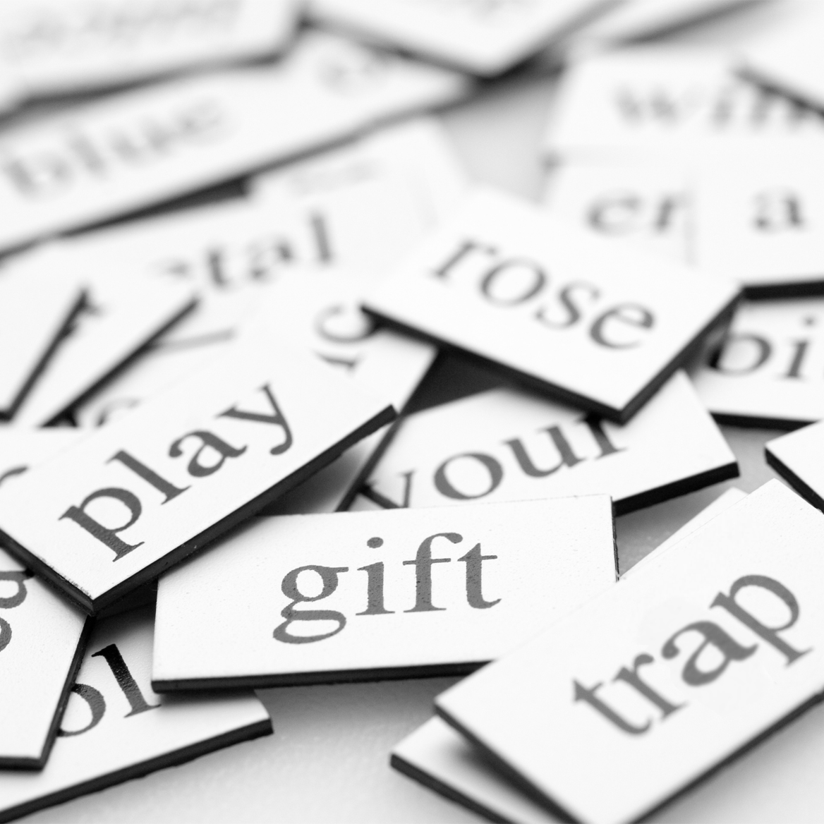 image of magnetic poetry words