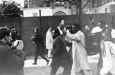 Marchers, Allen Building Takeover, 1969