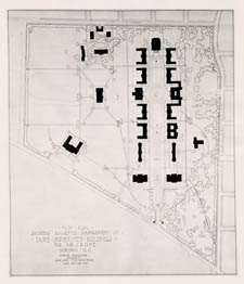 Plan Showing Suggested Arrangement of East Campus, undated
