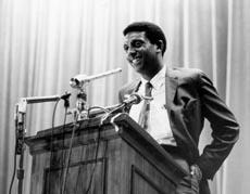 Stokley Carmichael Speaking at Duke, 1967