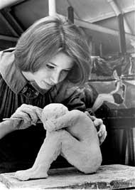 Sculpting Class, 1960s
