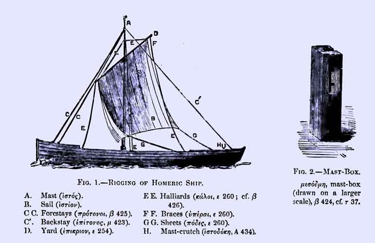 navire homère