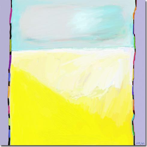 jakson Pollock Le bruit du silence