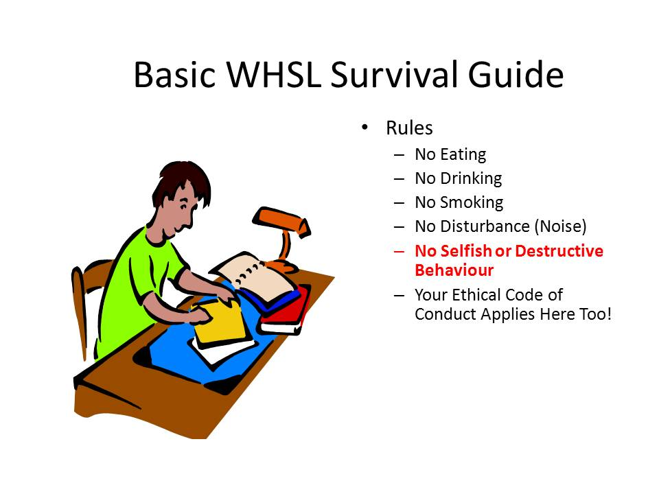 WHSL Survival Guide