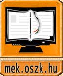 banner displaying text mek.oszk.hu