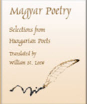 screen from Maygar Poetry selections from Hungarian Poets