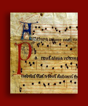 Image of Medieval Musical Manuscript