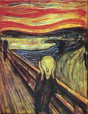 Edvard Munch's Scream, 1893
