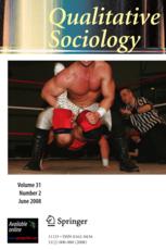 qualitative sociology book cover