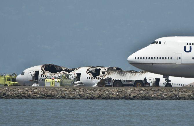 Asiana Air Boeing 777 crash at San Francisco Airport