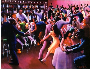 Nightlife by Archibald Motley, Jr.