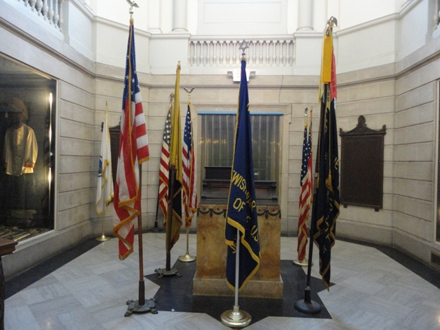 Newton War Memorial, Hall of Flags