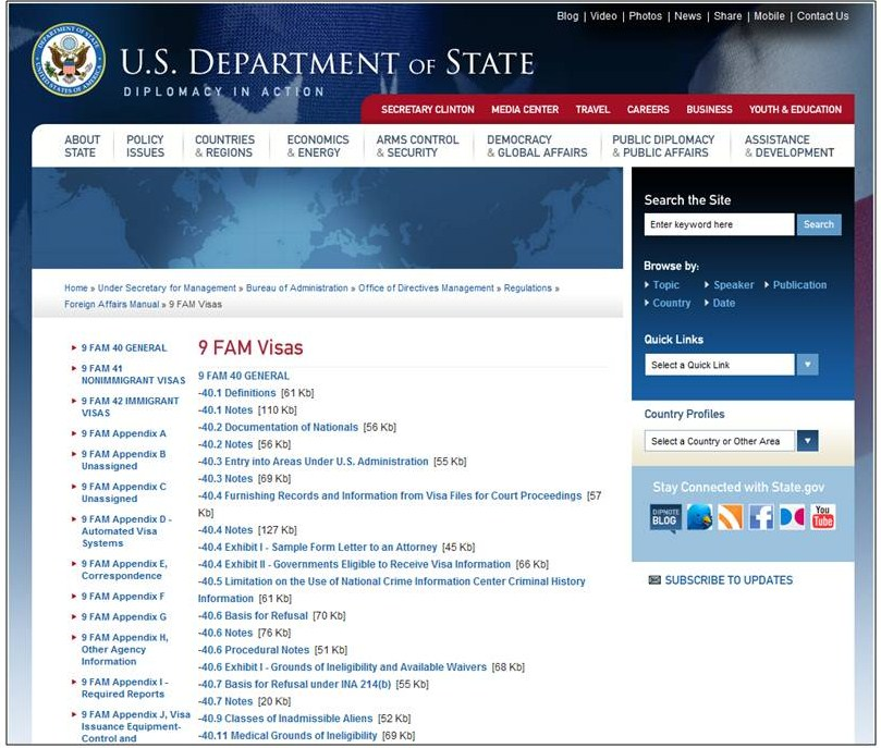 Foreign Affairs Manual
