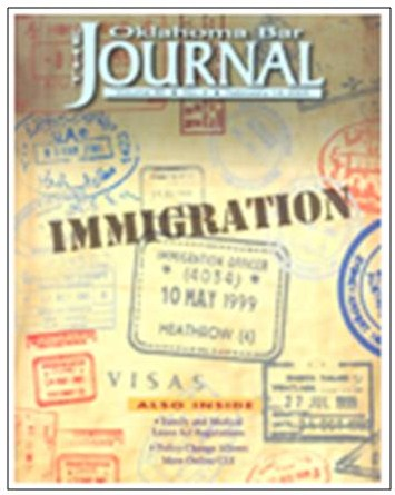 Oklahoma Bar Journal - Immigration Issue