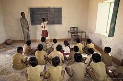 Student at Blackboard. India