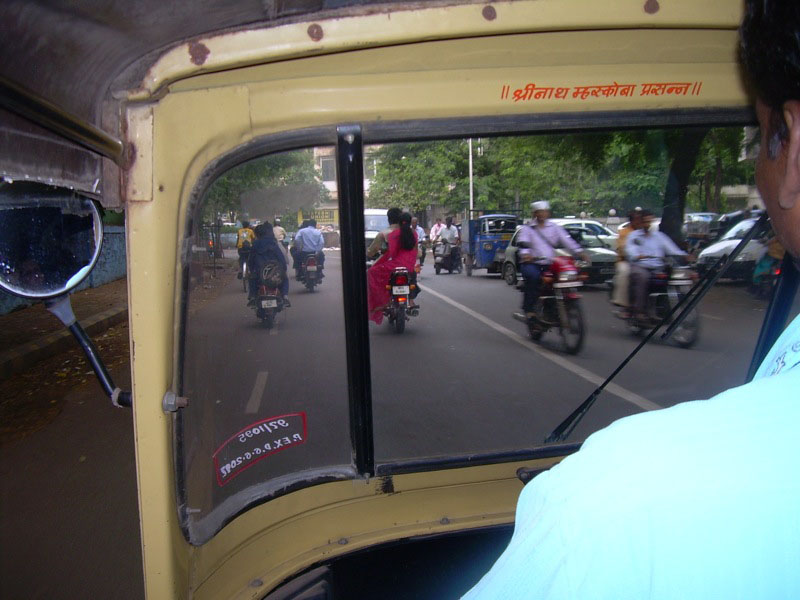 View from the Autorickshaw