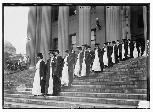 women graduates Barnard College, 1913