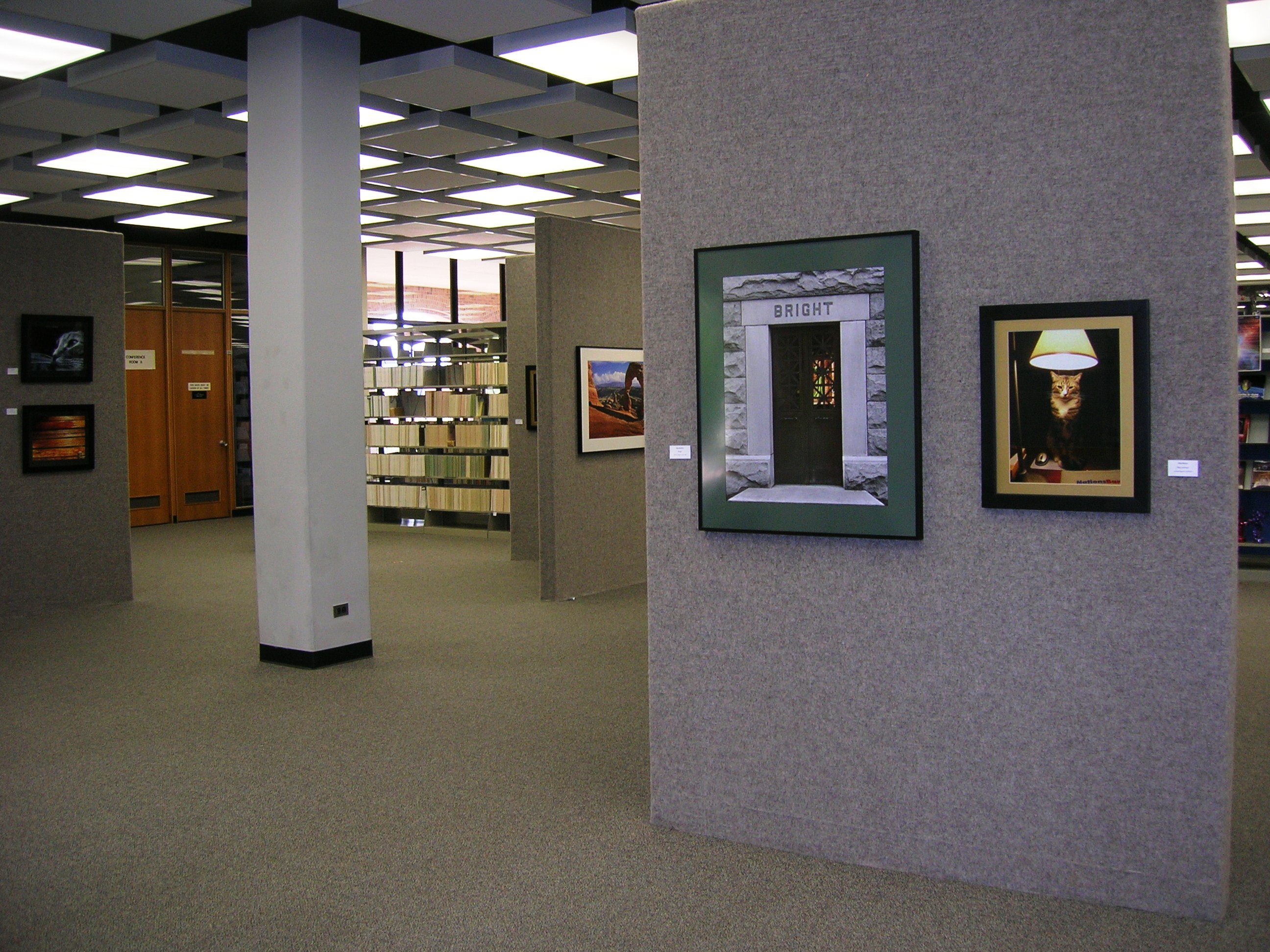 Art Exhibit area