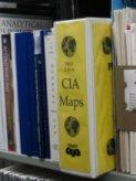 CIA maps binder on the shelf