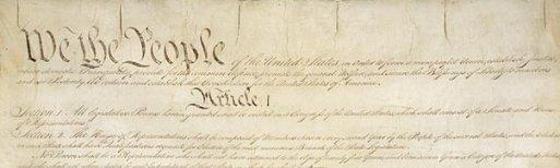 top of Constitution