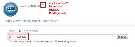 MeSH search box