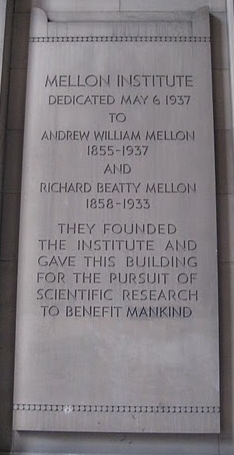 Mellon Dedication, by Cuttlefish on Picassa