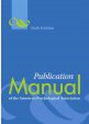 APA Publication Manual 6th ed.