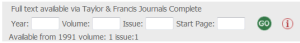 journal info blank boxes