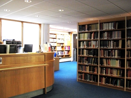 Image of library entrance area