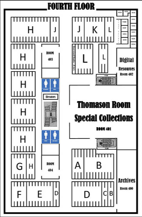 Fourth floor floor map