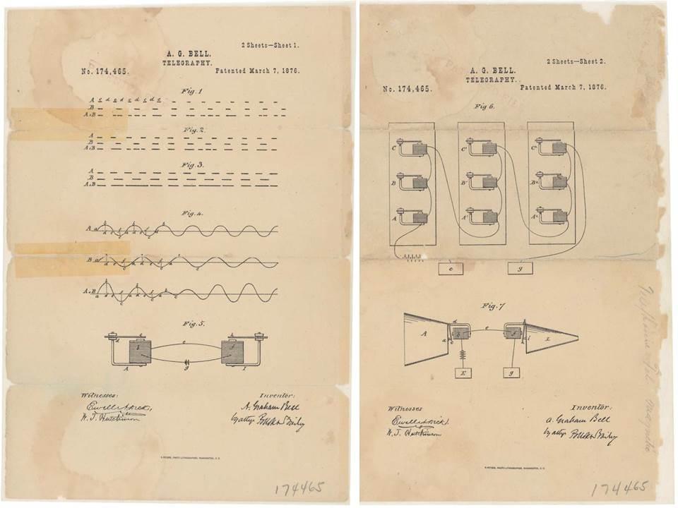 Alexander Graham Bell Patent