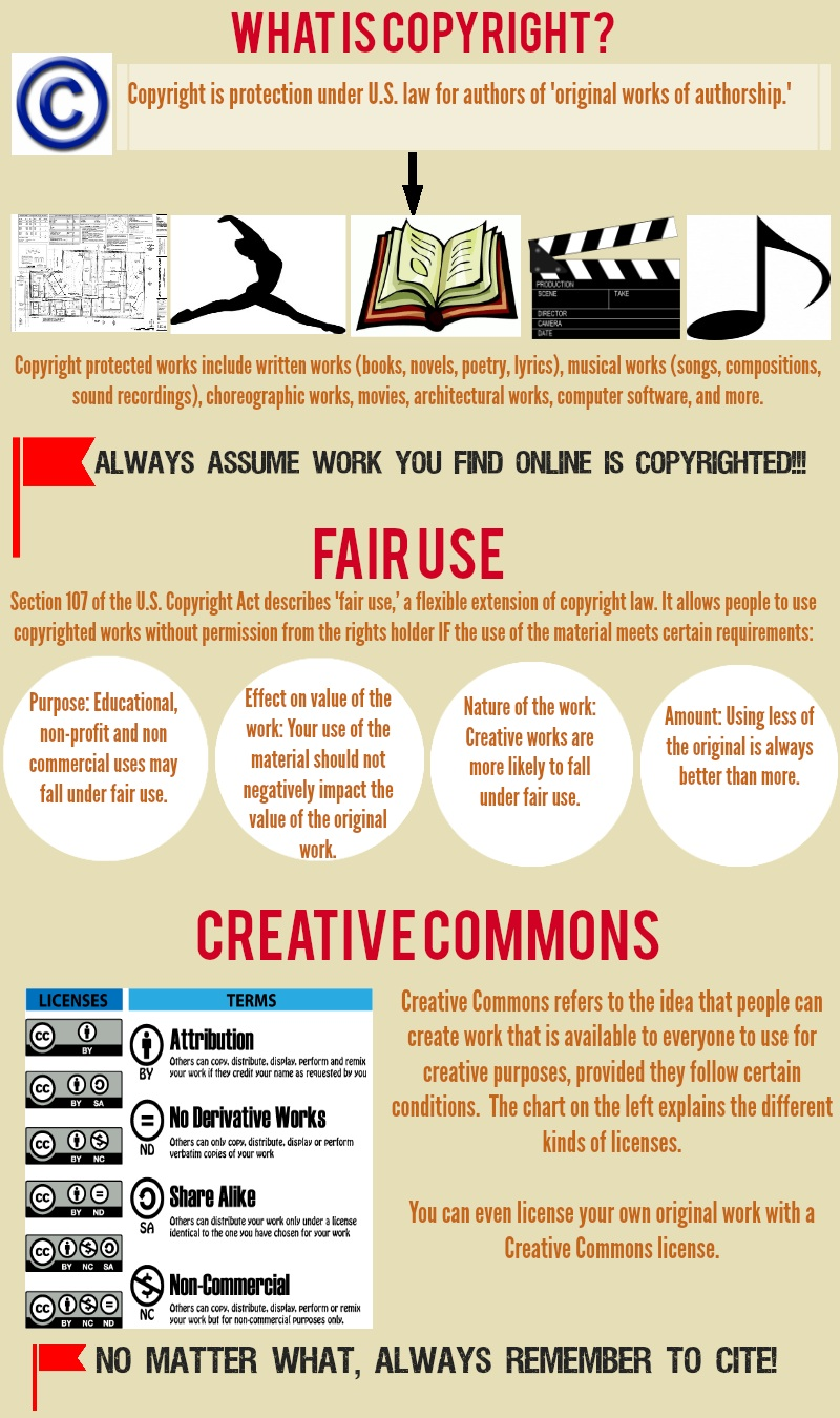 Copyright Overview Infographic