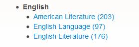 English journals